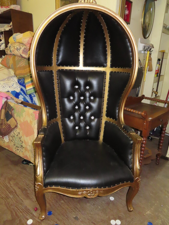 Ebony Canopy Chair
