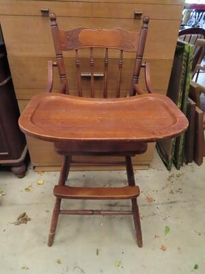 Antique High Chair