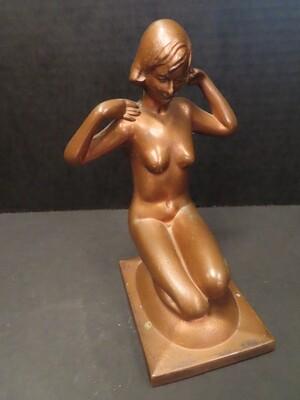 Art Deco Nude Figurine