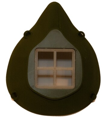 Montana Face Mask - Army Green