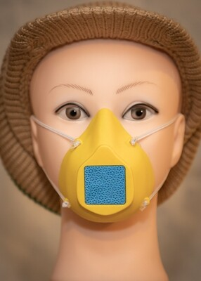 Adult Face Mask - Yellow