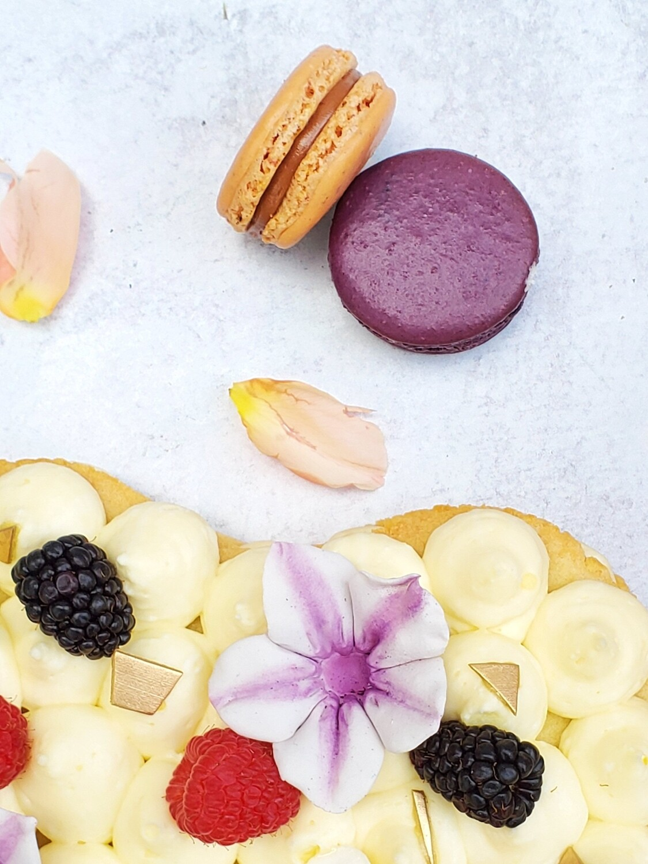 French Macarons: 2 pack (Honey Crumb Cake Studio)