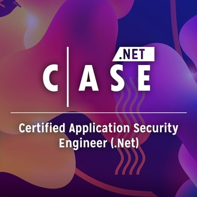 Certified Application Security Engineer - CASE .NET