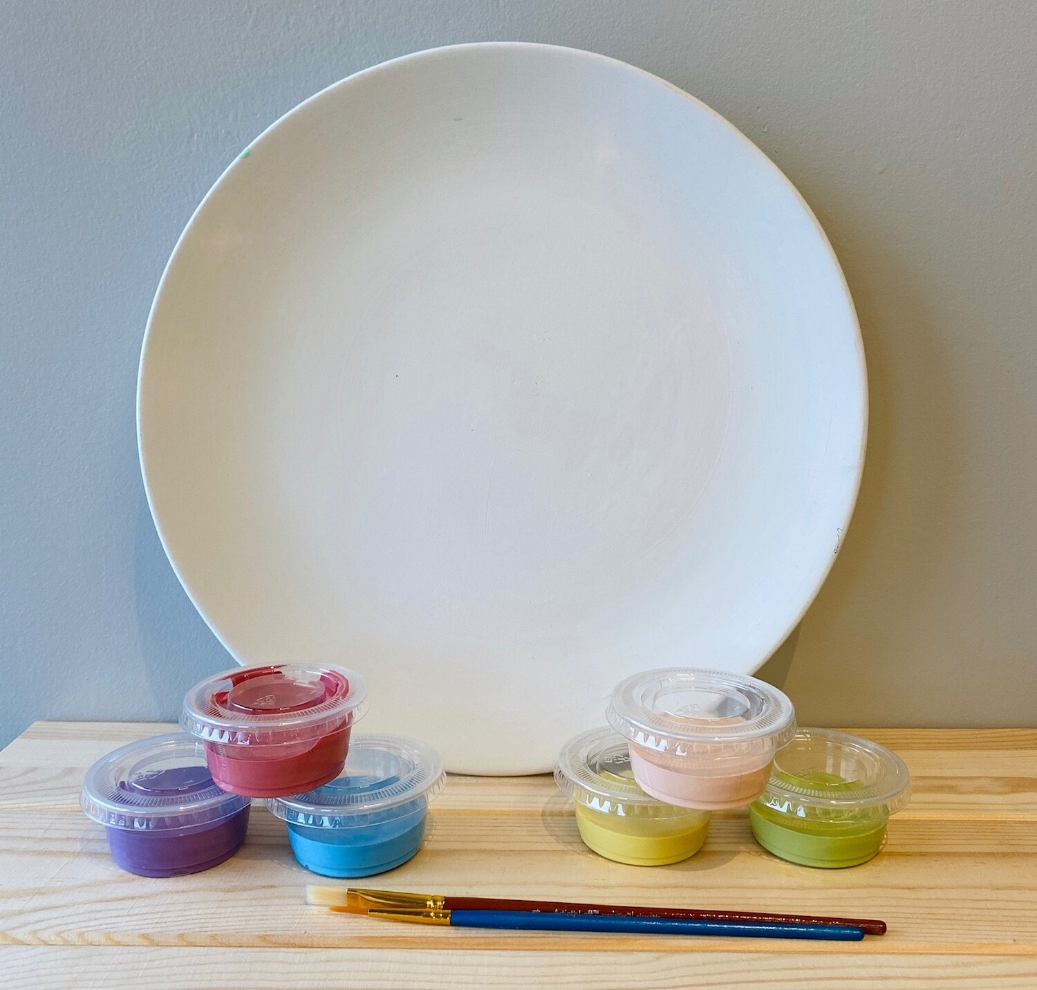 Take Home Coupe Dinner Plate with Glazes - Pick up at Pet Depot