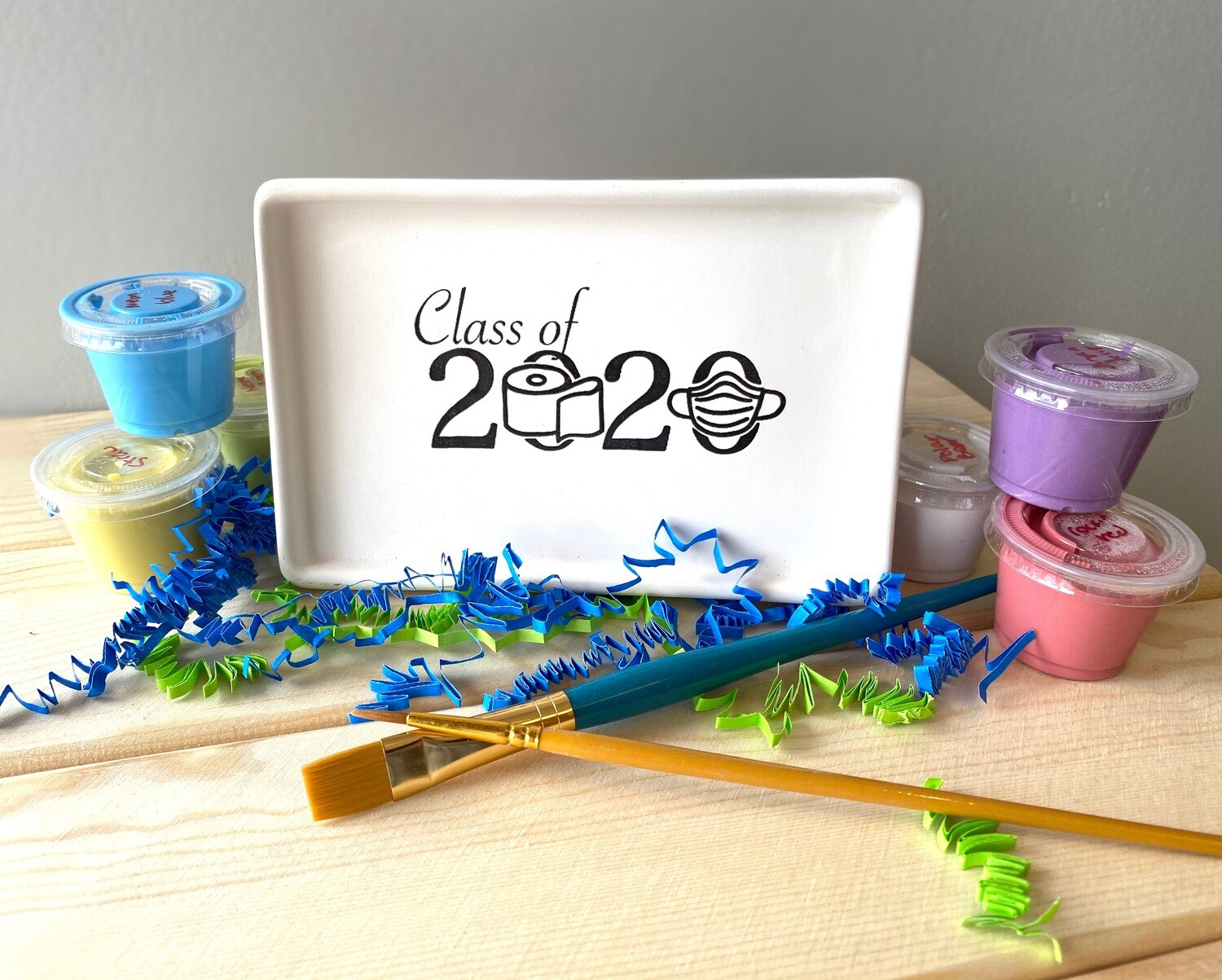 Take Home Coloring Book Class of 2020 TP Tray with Glazes - Pick up at Pet Depot
