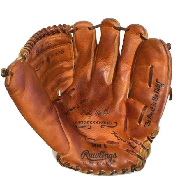 1950's Mickey Mantle Baseball Glove