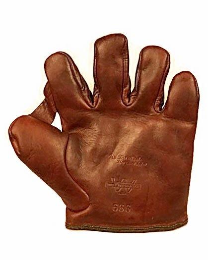 Antique Baseball Glove - 1910's Thomas E. Wilson