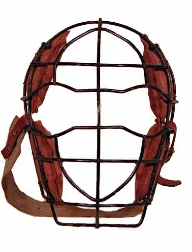 1900-1910s Vintage Baseball Catcher's Mask