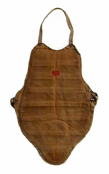 1900-10's Spalding Inflatable Chest Protector