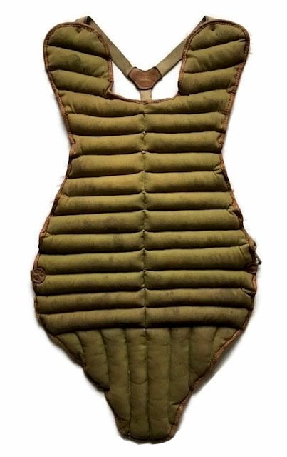 1910 - 1920's Baseball Chest Protector - Spalding