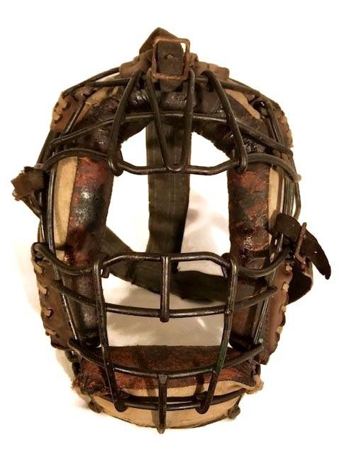 1920's Baseball Catcher's Mask - Goggle Eye