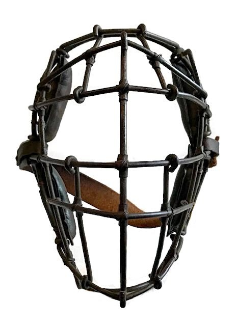Turn of the Century Birdcage-Style Catcher's Mask