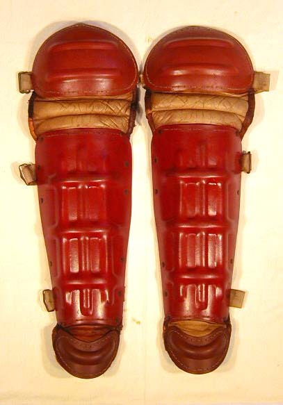 1930's Vintage Baseball Shin Guards