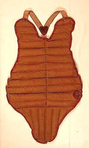 1920s Antique Baseball Chest Protector