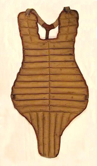 Scarce 1930's Bill Dickey Endorsed Chest Protector made by GoldSmith