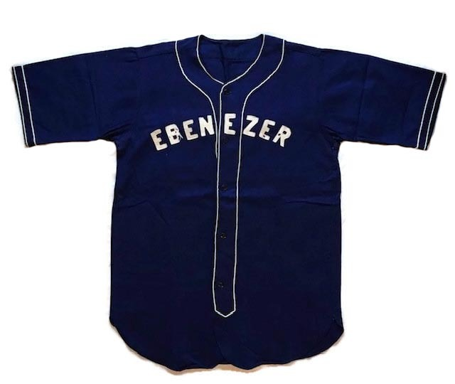 1930-40's Vintage Baseball Uniform - EBENEZER
