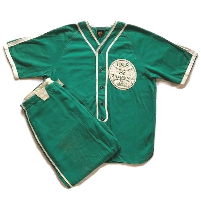1948 Vintage Baseball Uniform