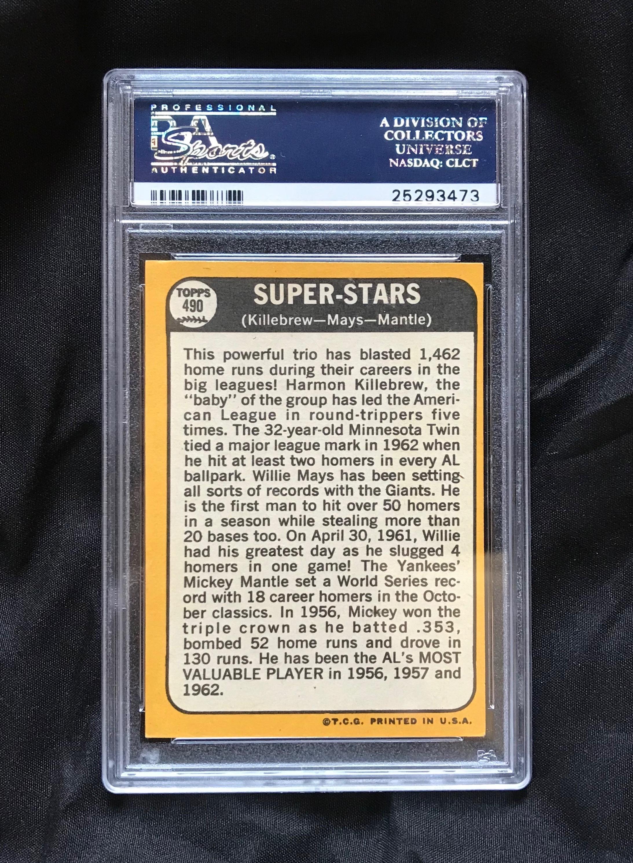 1966 Topps Tony Perez #72 PSA 5.5