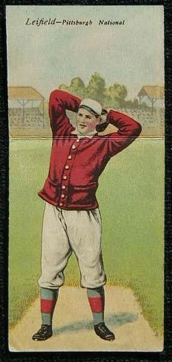 1911 T201 Mecca Double Folder Tobacco Baseball Card