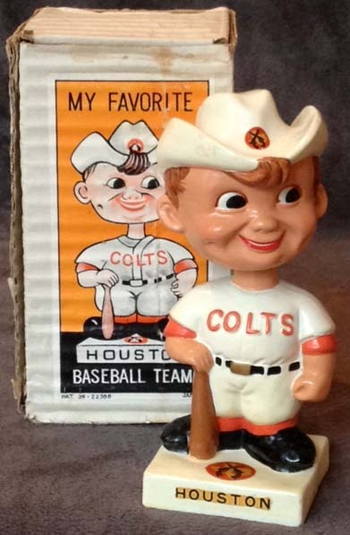 1960's Houston Colt 45's Bobble Head Doll