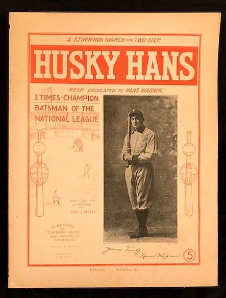1904 Honus Wagner, Husky Hans Sheet Music
