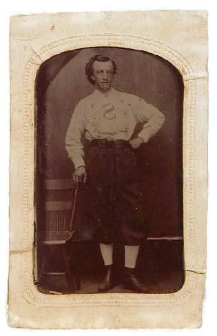 19th Century Baseball Tintype Photos