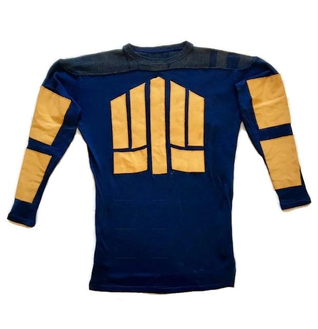 1920's Friction Strip Football Jersey - Treman King & Co.