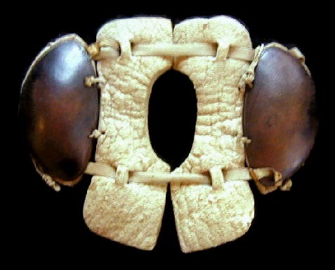 1910 Spalding Football Shoulder Pads w/ Collar Bone Protector