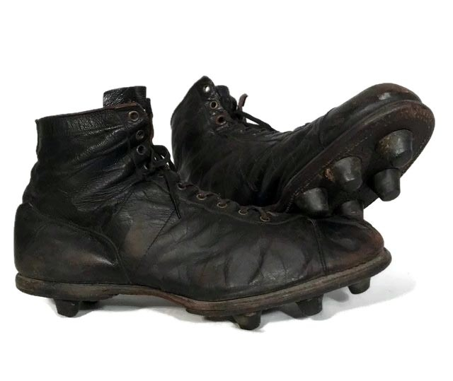 1920's Antique Football Shoes - Spalding