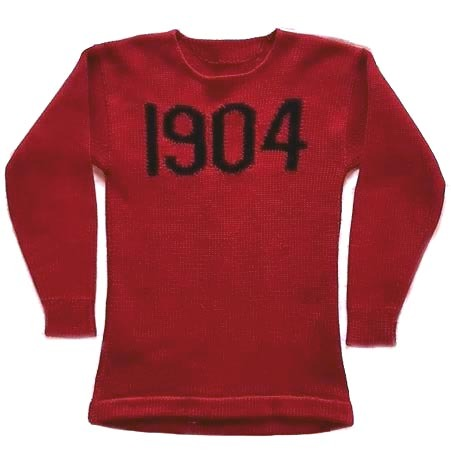 1904 Harvard Football Sweater - Jersey