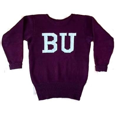 1910's Boston University Football Sweater – Jersey