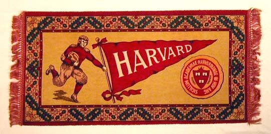 1900's Harvard Football Blanket - Fatima Tobacco Premium