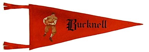 Antique Football Pennant - Bucknell 1900-1910