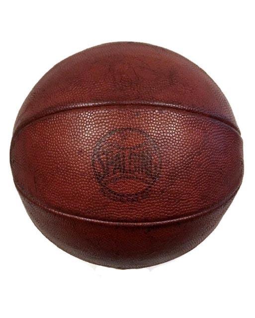 1930's Spalding LaceLess Basketball
