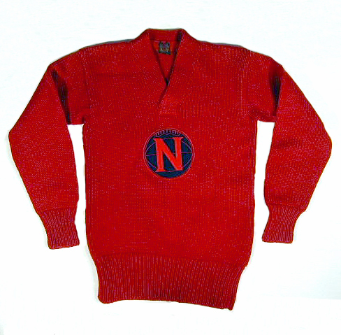 1920's Vintage Basketball Sweater by Lowe & Campbell
