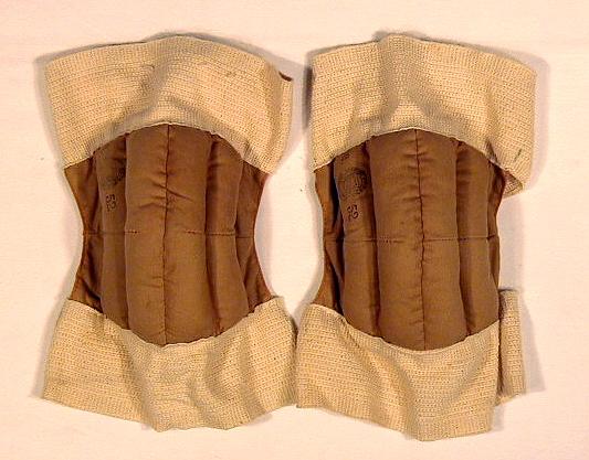 Vintage 1910's GoldSmith Basketball Knee Pads