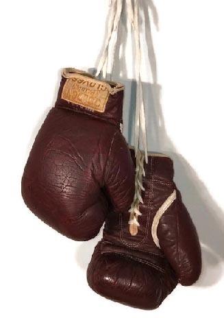 Antique Boxing Gloves - Spalding Golden Gloves