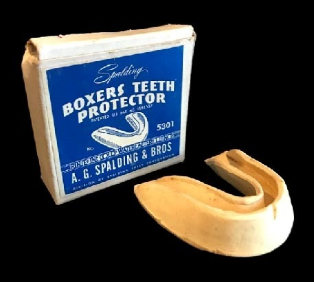 1927 Boxing Mouth Guard made by Spalding