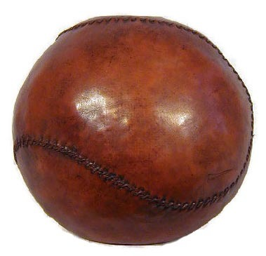 Early 1900's Medicine Ball - 11 pounds