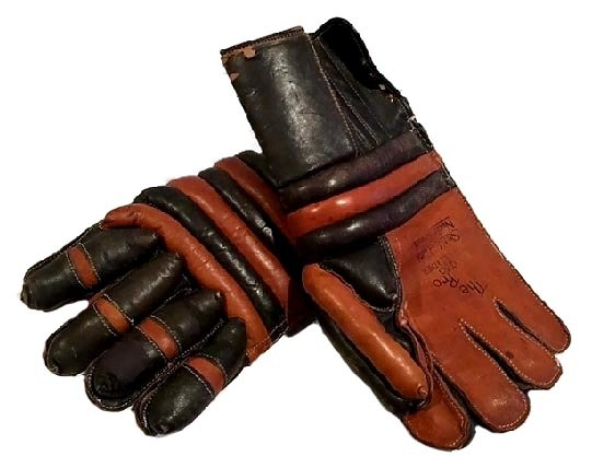 Vintage Hockey Gloves - 1940's