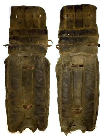 Vintage Hockey Goalie Pads - 1920's