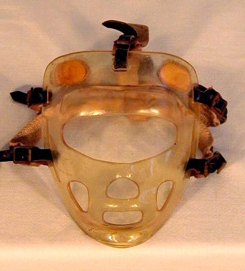 Vintage Hockey Goalie Mask 1950's