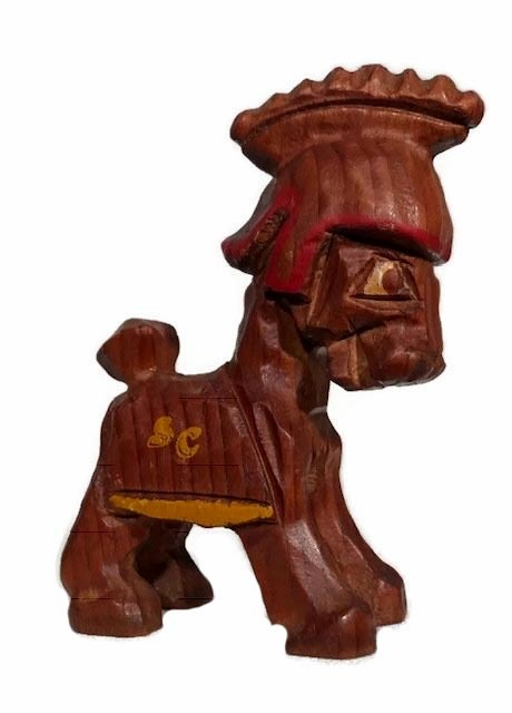 1950's University of Southern California Carter Hoffman College Mascot