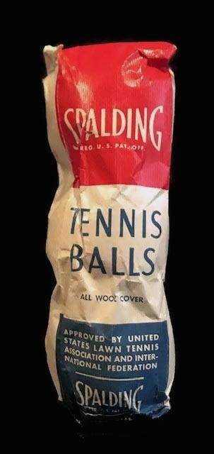 Early 1940's Spalding Tennis Balls in Original Packaging – Bag