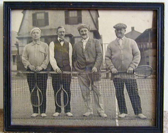 1910's Vintage Tennis Photo