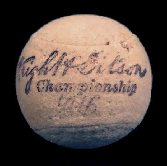 Dated 1916 Wright &Ditson CHAMPIONSHIP Tennis Ball