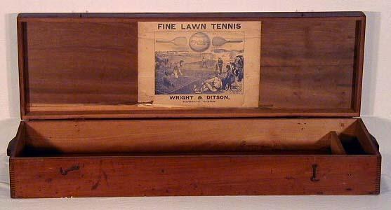 1870 - 1880's Wright & Ditson Lawn Tennis Box