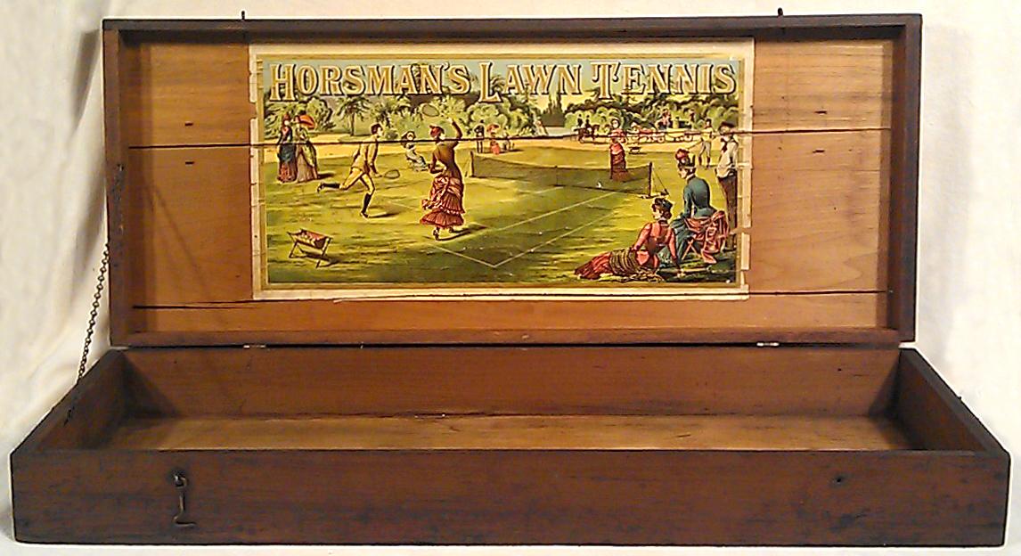 1888 Horsman Lawn Tennis Box