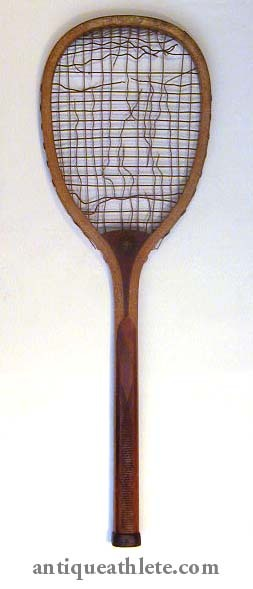 "Early 1900's Victor ""The Club"" Tennis Racket"