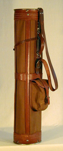 Patented 1917 Golf Bag made by R.H. Burke Co.